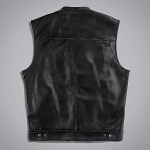 Жилет мужской JOKER VEST LEATHER - WITHOUT PA