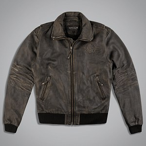 Куртка мужская LEATHER BOMBER BOMBARDIER BR.